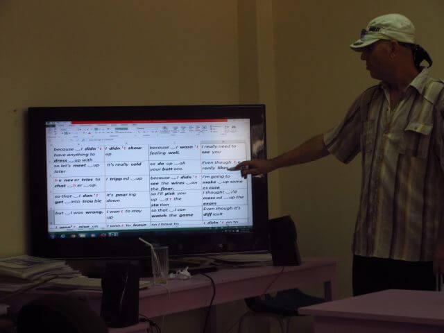フィリピン短期留学ネイティブ講師(クラークAELC)
