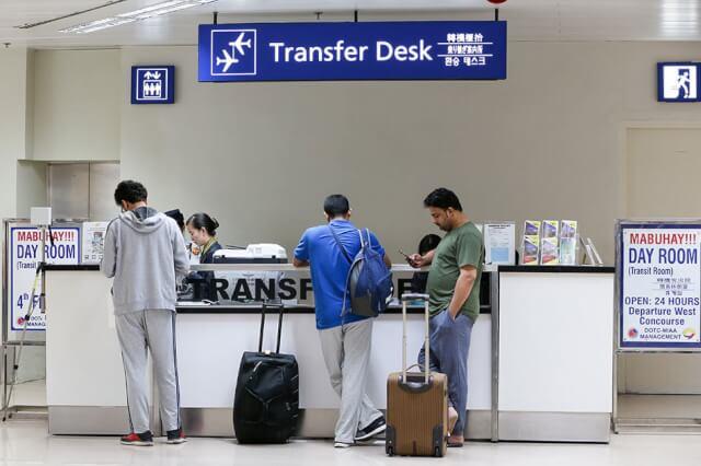 マニラ空港トランスファーデスク