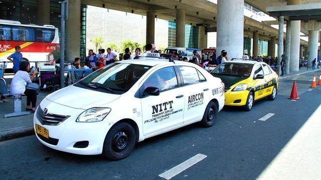 マニラの空港タクシー