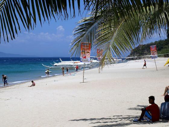 フィリピン観光地のプエルト・ガレラ