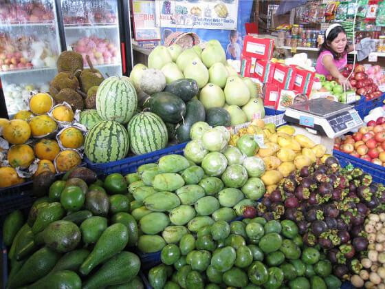 フィリピンお土産用のフルーツ