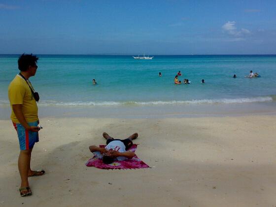 フィリピン観光地スミロン島