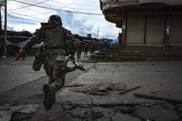 マラウィ市での戦闘