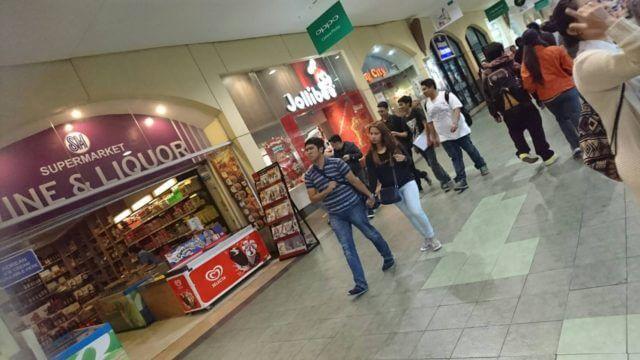 バギオのショッピングモール