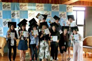 BECI卒業式