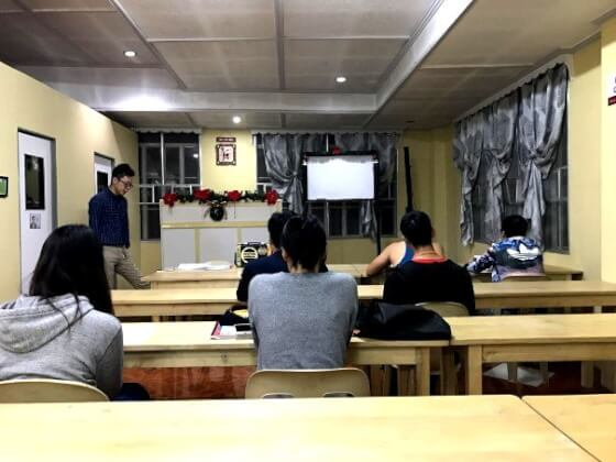 A&Jフィリピンの授業
