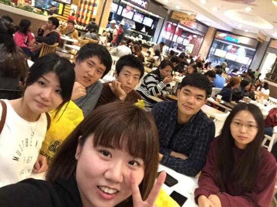 留学生と交流