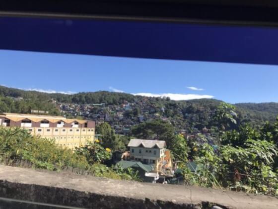 バギオの景色