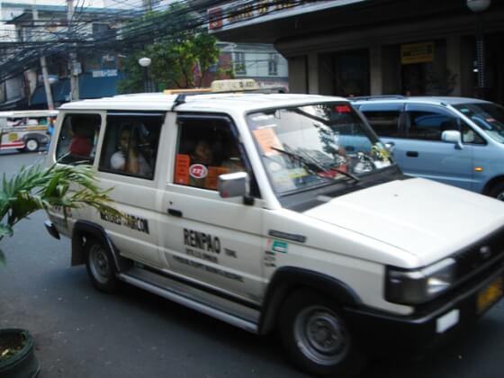 バギオのタクシー