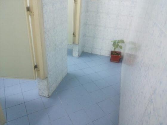 PINESのトイレ
