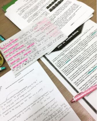 バギオパインスで勉強