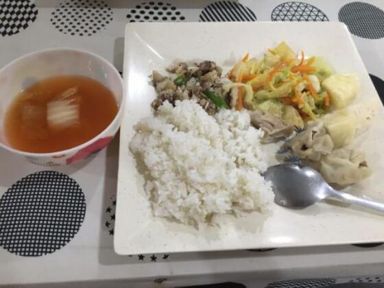 フィリピンCIPのご飯