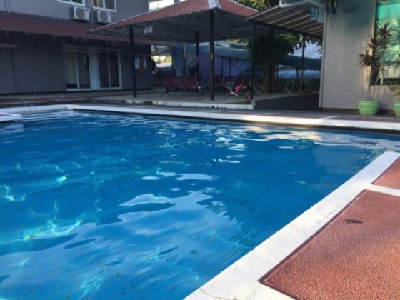 フィリピンCIPのプール