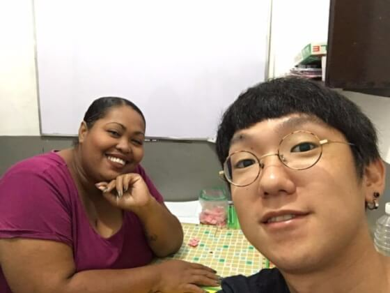 フィリピンCIPの先生