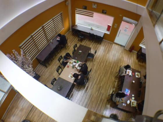 カフェテリア2階