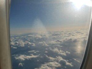 フライトからの眺め