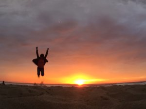 サンフアンの夕日