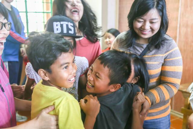 小学校でのボランティア