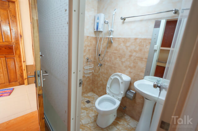 TALKテラス外部寮のトイレシャワー