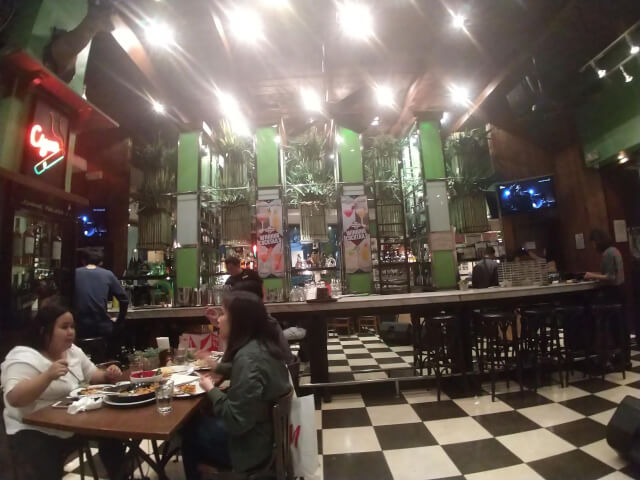 Cafe Havana(カフェハバナ)の店内