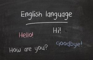 Easy English sentence
