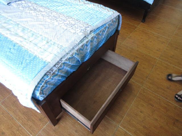 ベッドの収納