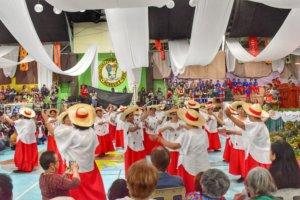 Multi-cultural celebration