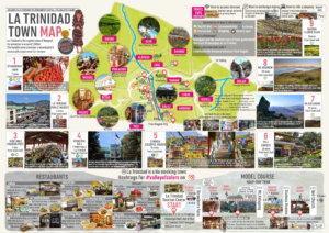 ラ・トリニダードガイドマップ