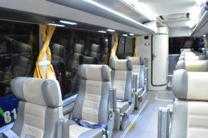 ジョイバスの座席