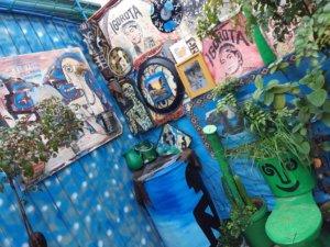 ルーフレスアートスタジオの屋上