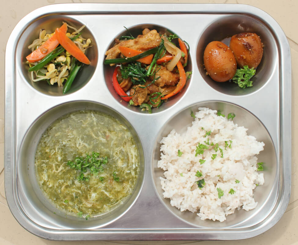 日本人比率30%の韓国系語学学校の食事