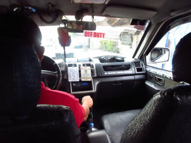 学校前からタクシーが中々捕まらない