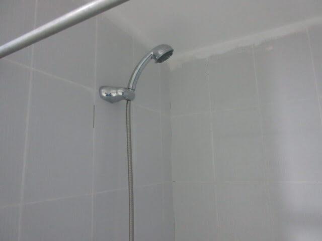 シャワーの水圧が弱い