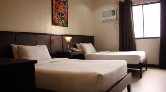 ホテル2人部屋