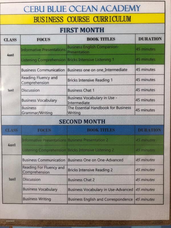 Businessコース