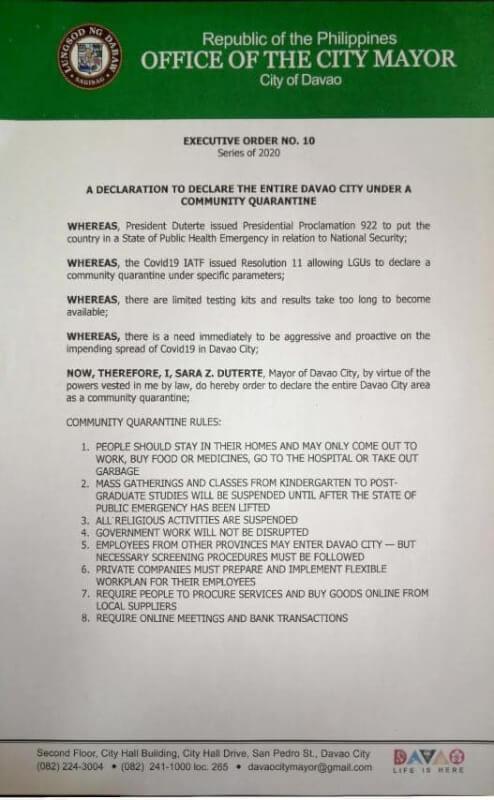 ダバオに滞在・留学する人に影響がある規制まとめ