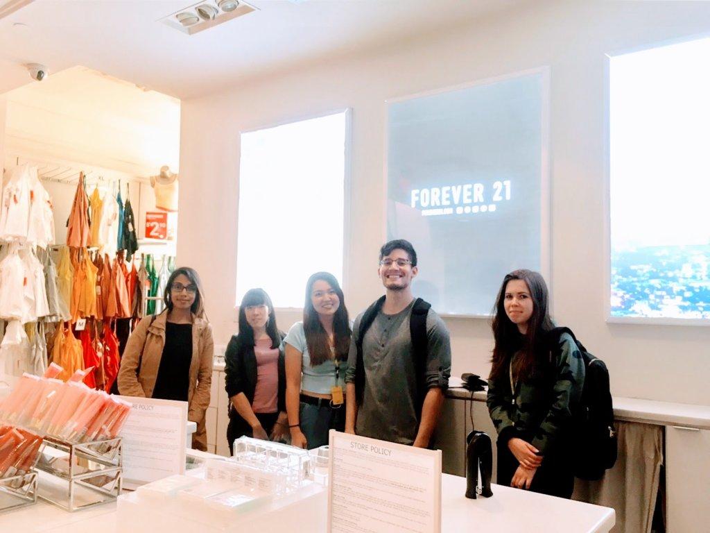 倉橋美衣:カナダのトロント「フォーエバー21」で採用決定