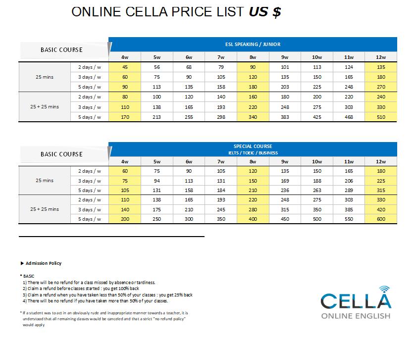 CELLA(セラ)のオンライン留学