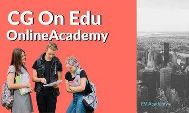CG Academy(シージーアカデミー)のオンライン留学
