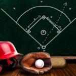 ①野球のルールを学ぶ(英語のレッスンで文法を習う)