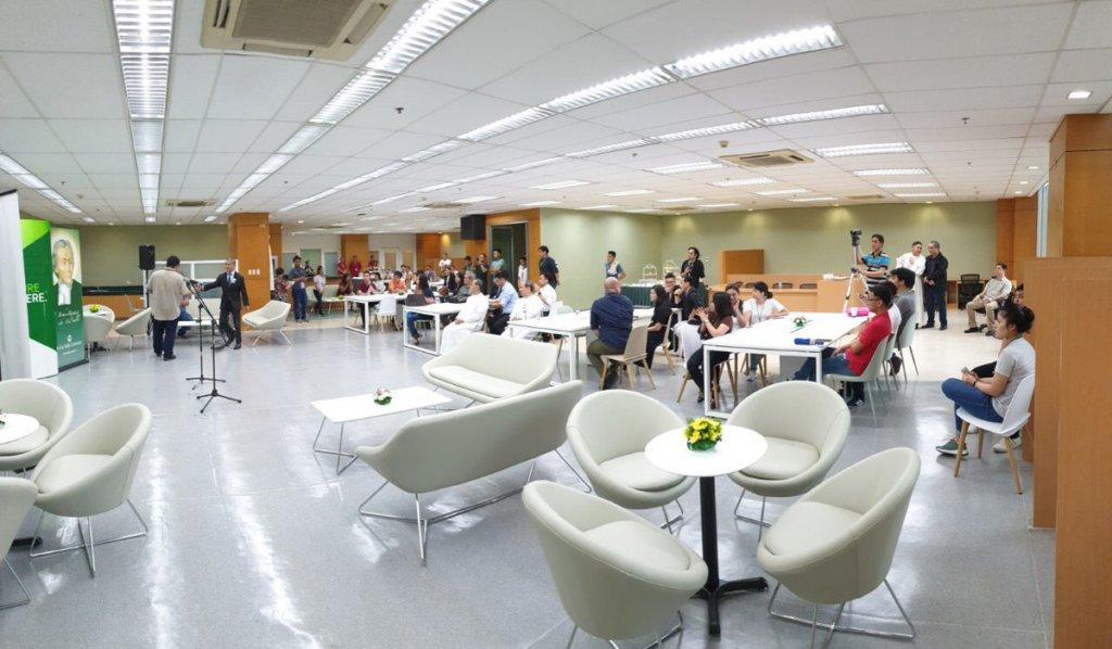デラサール大学教室